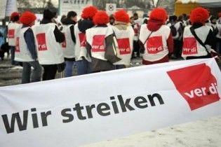 По Германие пронеслась волна предупредительных забастовок
