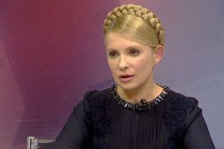 Тимошенко: Янукович поменял закон о выборах, потому что не уверен в победе