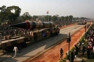 Индия запустила баллистическую ракету