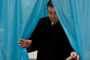 ПР довольна поддержкой Януковича на западе Украины
