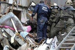 В Днепропетровской области взорвался жилой дом, 7 пострадавших