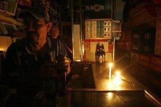 Из-за ошибки электрика почти 4 млн человек остались без света