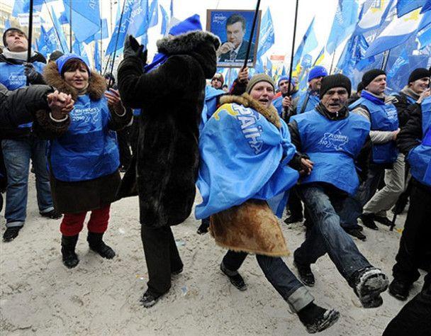 В Донецке раздают листовки с инструкцией, как правильно выбирать Партию регионов