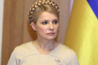 Тимошенко пришла на переговоры к нунсовцам
