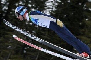 Украинские летающие лыжники успешно стартовали на Олимпиаде