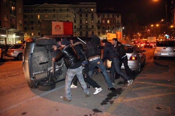 В Милане произошли беспорядки из-за убийства египтянина