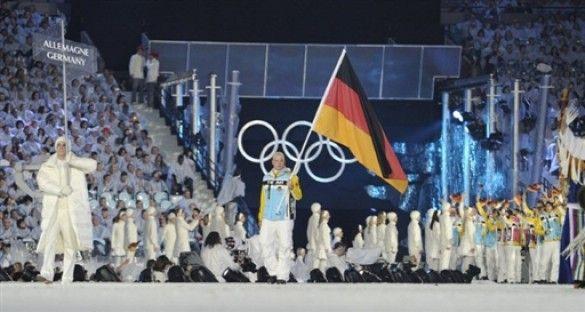 Німецька делегація на відкритті Олімпіади