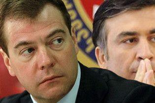 Медведев и Саакашвили встретятся лицом к лицу в Казахстане