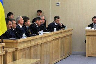 Во время выступления Тимошенко в суде возникли проблемы со звуком