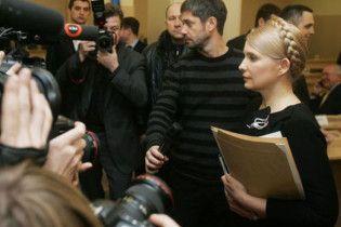 Тимошенко не будет обращаться в Высший суд Украины