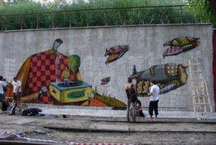 В Киеве будут штрафовать за граффити