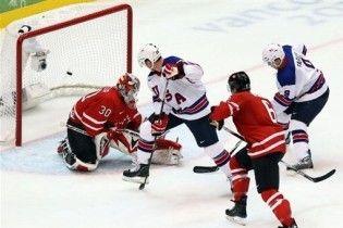 Хоккеисты США победили Канаду на Олимпиаде