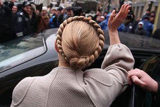 Тимошенко ушла из Рады, не ожидая голосования относительно своей отставки