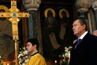 Московский патриархат ждет от Януковича возвращения имущества