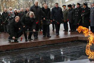 В России взорвали монумент Вечному огню