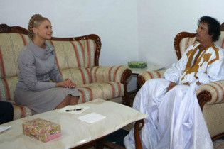 Тимошенко о дресс-коде: Каддафи не пустили бы в Кабмин