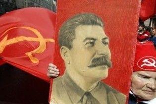 Во время открытия памятника Сталину умерла женщина