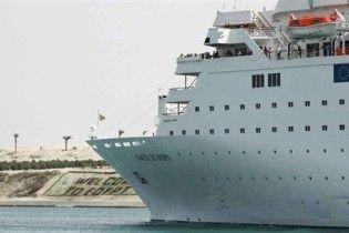 Круизный лайнер врезался в пирс в Шарм-ель-Шейхе