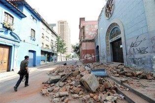 Землетрясение в Чили: число жертв превысило сотню