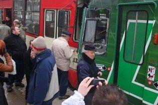 В Гданске столкнулись два трамвая: 12 пострадавших