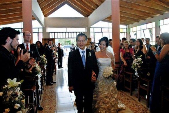 Весілля дочки Фухіморі