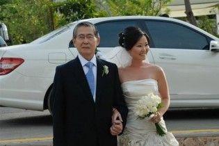 Дочь экс-президента Перу вышла замуж в тюрьме
