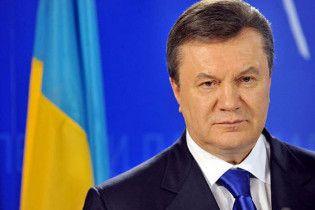 Янукович требует встречи с Обамой