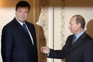 НУ: Янукович со страшной силой копирует Путина
