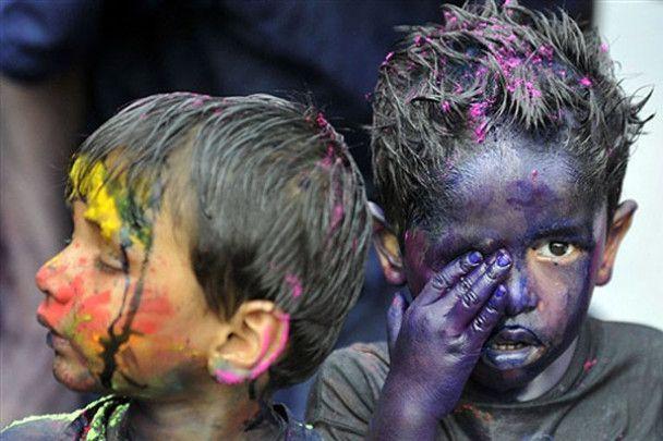 Холи: разноцветная встреча весны в Индии