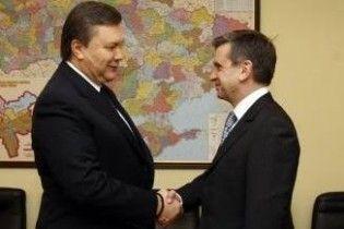 Янукович похвалил Зурабова за изучение украинского языка
