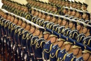 Китай увеличил военный бюджет до 78 миллиардов долларов