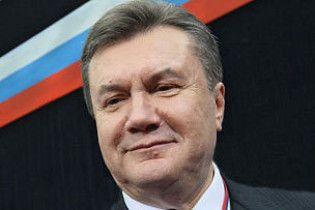 Янукович выполнил программу в Москве и вернулся в Киев
