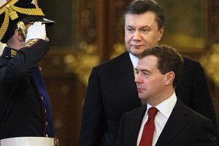 """Медведев пожаловался, что до Януковича ему """"хамили по полной программе"""""""