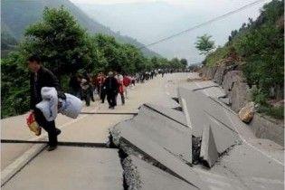 На северо-востоке Китая произошло землетрясение