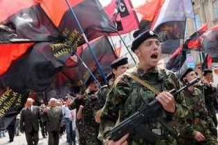 Националисты пригрозили Януковичу стотысячными акциями протеста