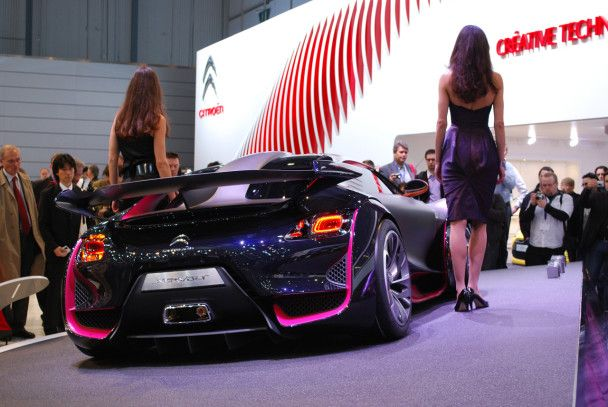 "Citroen создал ""копию"" Bugatti"