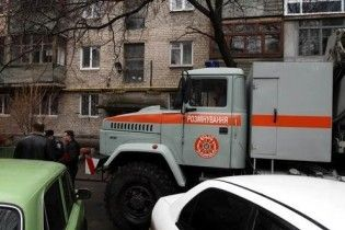 В центре Донецка взорвался жилой дом