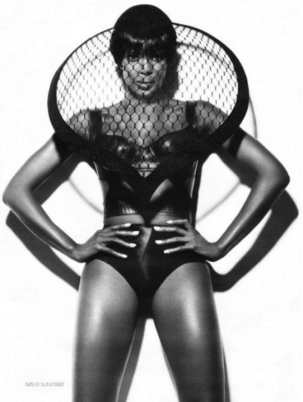 Наоми Кемпбелл снялась для российского Vogue
