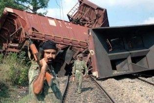 Индийские маоисти подорвали пассажирский поезд