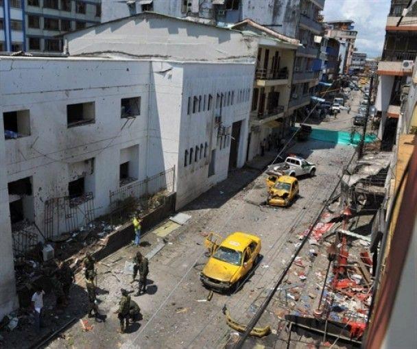 Вследствии теракта в Колумбии погибли 9 человек, еще 50 раненных