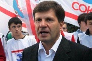 Костусев принял присягу мэра Одессы и получил сломанное кресло
