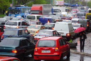 В центре Киева введут одностороннее движение