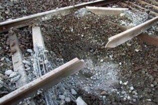 В Дагестане подорвали товарный поезд