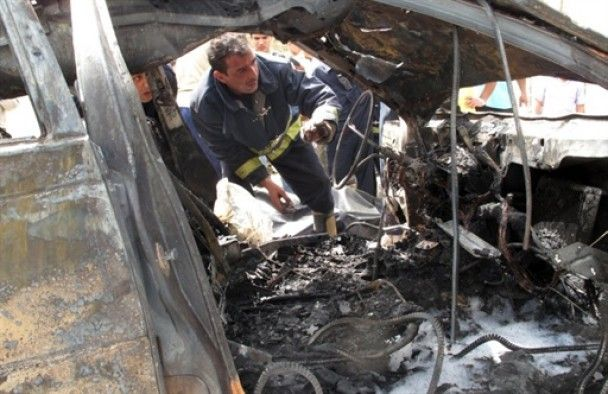 В центре Багдада произошел тройной теракт: 15 погибших