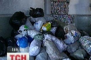 В Донецке перестали вывозить мусор