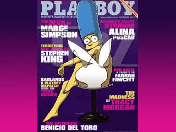Мардж Сімпсон в Playboy