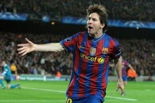"""Покер Месси вывел """"Барселону"""" в полуфинал Лиги чемпионов"""