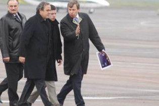 Платини осмотрел объекты Евро-2012 во Львове