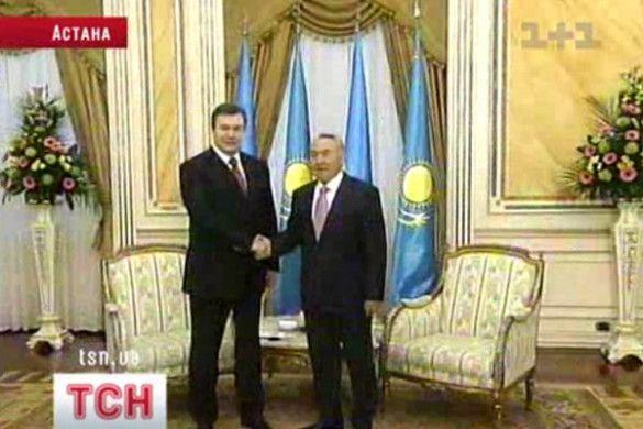 Янукович у Астані