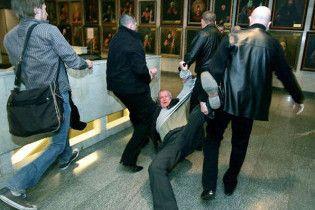 Во время драки на выставке, посвященной жертвам УПА, задержали БЮТовского помощника